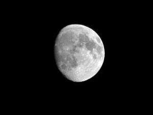 Mjesec kakav očekujemo 6. rujna navečer na promatranju (foto: morguefile.com)
