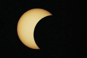 Djelomična pomrčina Sunca u Križevcima otprilike će ovako izgledati.